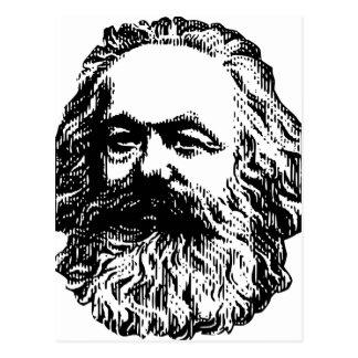 Postal Karl Marx - comunismo
