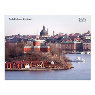 Postal Kastellholmen, Estocolmo, foto O…
