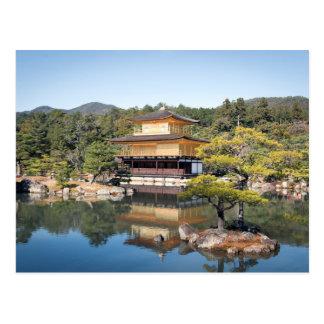Postal Kinkaku-ji de Kyoto