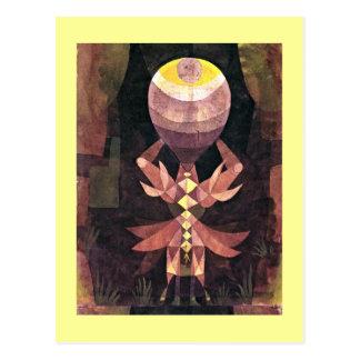 Postal Klee - baya salvaje, pintura de Paul Klee