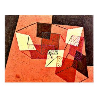 Postal Klee - superficies apoyadas