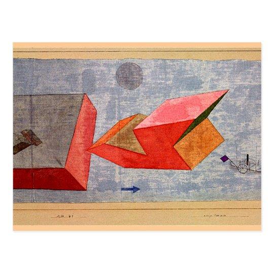 Postal Klee - viaje corto del mar