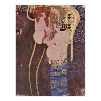 Postal ¿Klimt, Gustavo Der Beethovenfries, Wandgem? lde