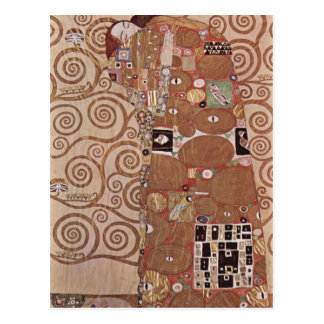 Postal ¿Klimt, Gustavo Entwurf f? guarida Wandfries im