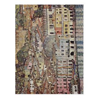 Postal Klimt, Gustavo Malcesine Gardasee Italiano: Malc