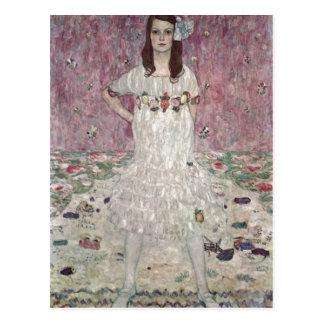 Postal ¿Klimt, Gustavo Portr? ¿Eugenia del der de t (M?