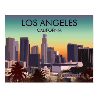 Postal L.A. céntrico