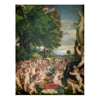 Postal La adoración de Venus, 1519