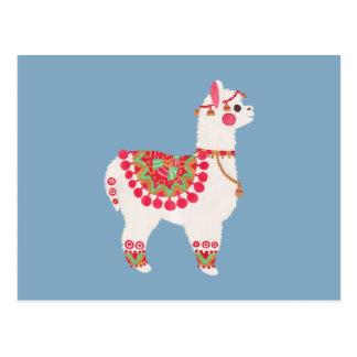 Postal La alpaca