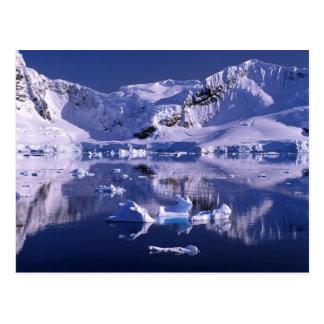 Postal La Antártida, bahía del paraíso