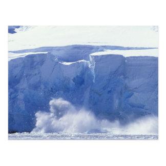 Postal La Antártida, bahía del paraíso, formas de onda