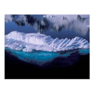 Postal La Antártida, bahía del paraíso. Iceberg en