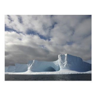 Postal La Antártida, estrecho de Bransfield, sol de la