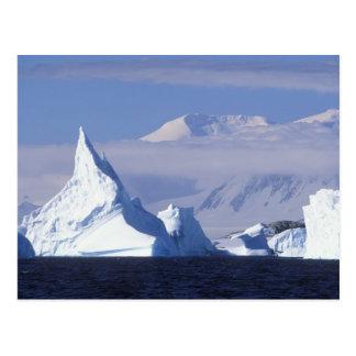 Postal La Antártida, isla de Boothe, sol de la tarde