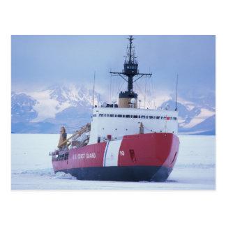Postal La Antártida, isla de Ross, estación de McMurdo,