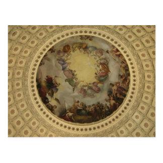 Postal La apoteosis del capitolio de Washington de la