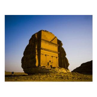 Postal La Arabia Saudita, sitio de Madain Saleh, 4