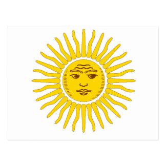 Postal La Argentina Sun