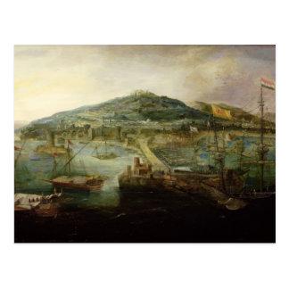 Postal La bahía de Nápoles