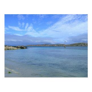 Postal La bahía del mártir, isla de Iona
