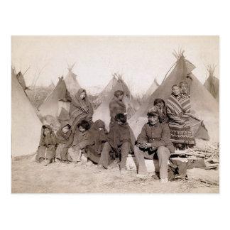 Postal La banda de Bigfoot