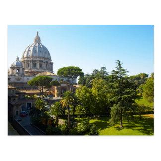 Postal La basílica de San Pedro, Ciudad del Vaticano,