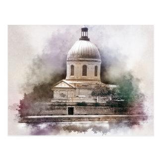 Postal La Basílica Pez de San Pedro de Toulouse