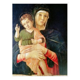 Postal La bendición de la Virgen y del niño, 1460-70