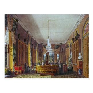 Postal La biblioteca de la reina, Frogmore