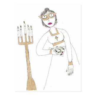 Postal La bola enmascarada espeluznante de Jane Austen