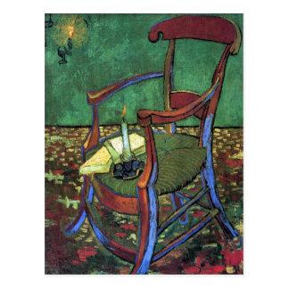 Postal La butaca de Paul Gauguin de Vincent van Gogh 1888