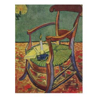 Postal La butaca de Paul Gauguin - Vincent van Gogh
