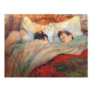 Postal La cama