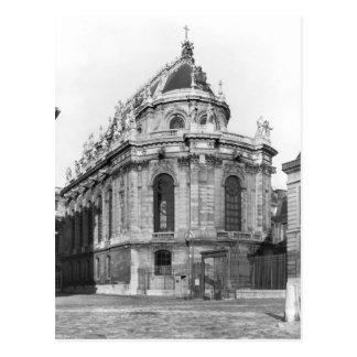 Postal La capilla real, castillo francés de Versalles