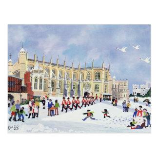 Postal La capilla Windsor de San Jorge