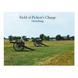 Postal La carga de Pickett