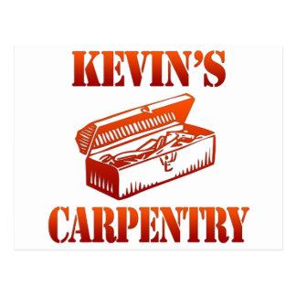 Postal La carpintería de Kevin