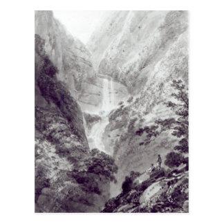 Postal La cascada de Minzapeezo