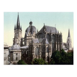 Postal La catedral de Aquisgrán