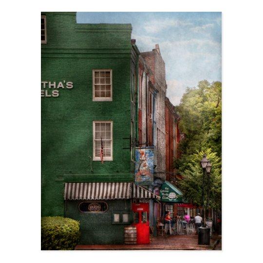 Postal La ciudad - Baltimore, MD - derriba el punto, MD -
