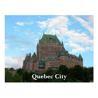 Postal La ciudad de Quebec