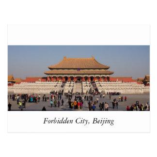 Postal La ciudad Prohibida, Pekín