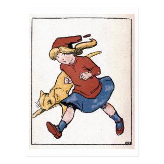 """Postal La """"conciencia hace a cobardes…"""" Vintage"""