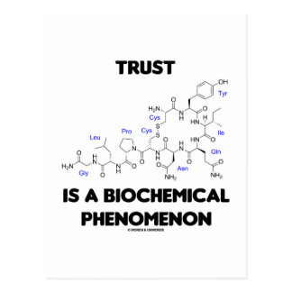 Postal La confianza es un fenómeno bioquímico (la