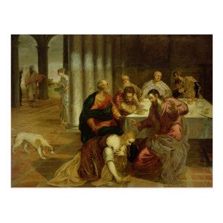 Postal La conversión de Maria Magdalena, 1546-7