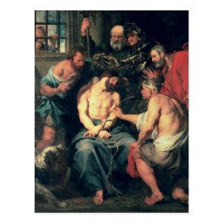 Postal La coronación con las espinas, 1618-20