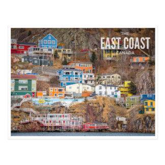 Postal La costa este, Canadá