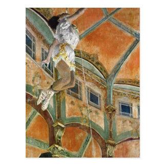 Postal La de Srta. La de Edgar Degas el   en el Cirque
