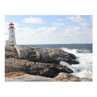 Postal La ensenada de Peggy, Nueva Escocia