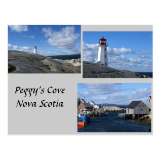 Postal La ensenada Nueva Escocia de Peggy